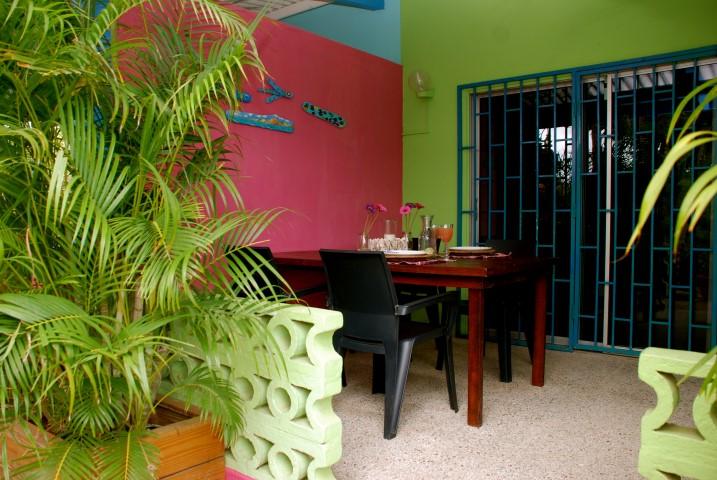 Caribbean flower apartments vakantie cura ao bij abc travel - Kamer kinderstoel ...