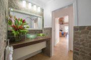 Juliana's Orchid bathroom
