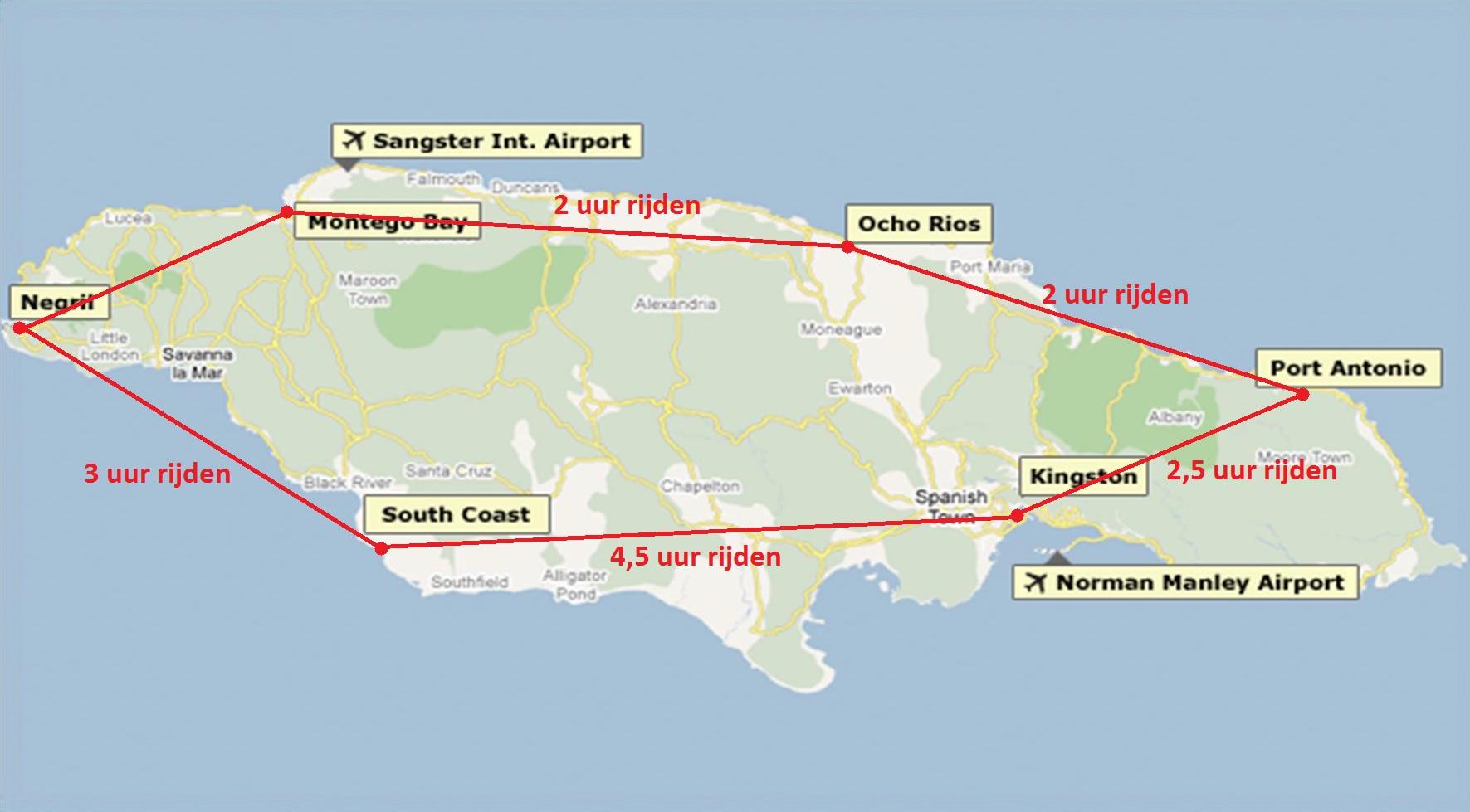 Route Jamaica