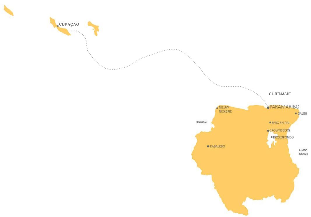 Combinatie Suriname en Curacao GOED