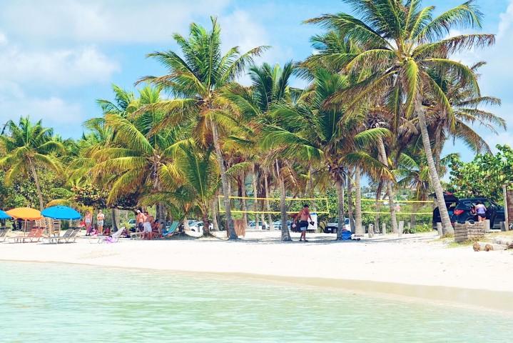 Strand hoppen op St. Maarten