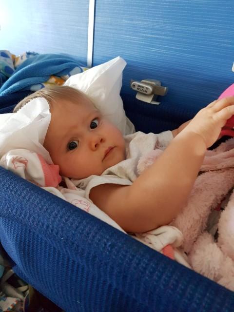 Vliegen met een baby