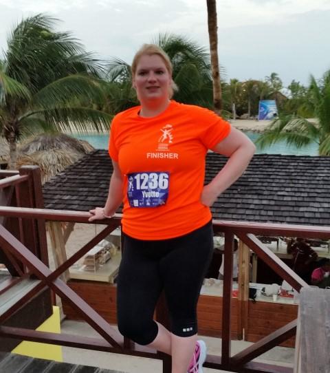 Yvette KLM Curaçao Marathon