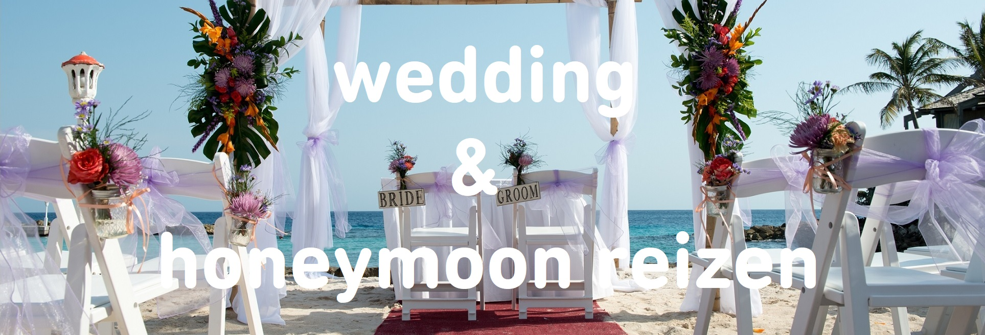 wedding honeymoon reizen